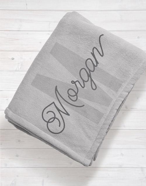 apparel: Personalised Initial Baby Fleece Blanket!