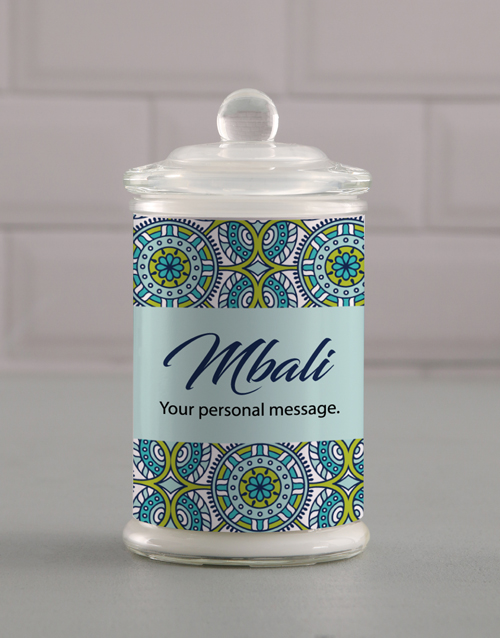 grandparents-day: Personalised Suave Candle Jar!