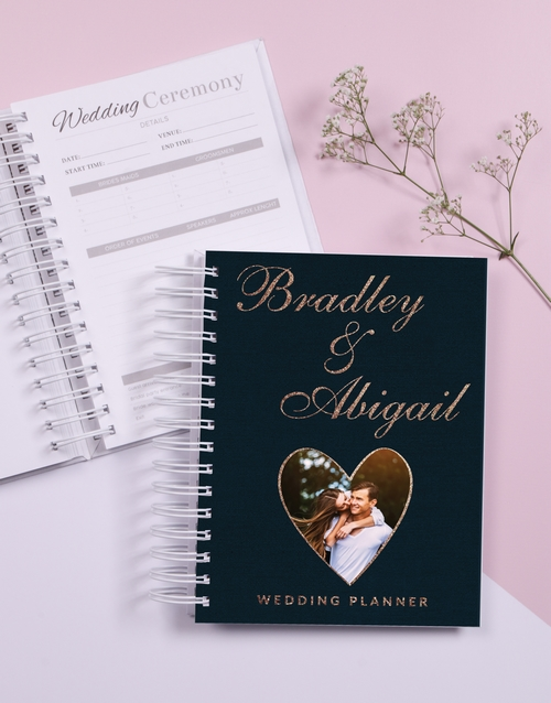 journals: Personalised Heart Wedding Journal!