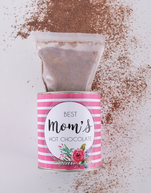 mothers-day: Personalised Hot Chocolate Tin For Mom!