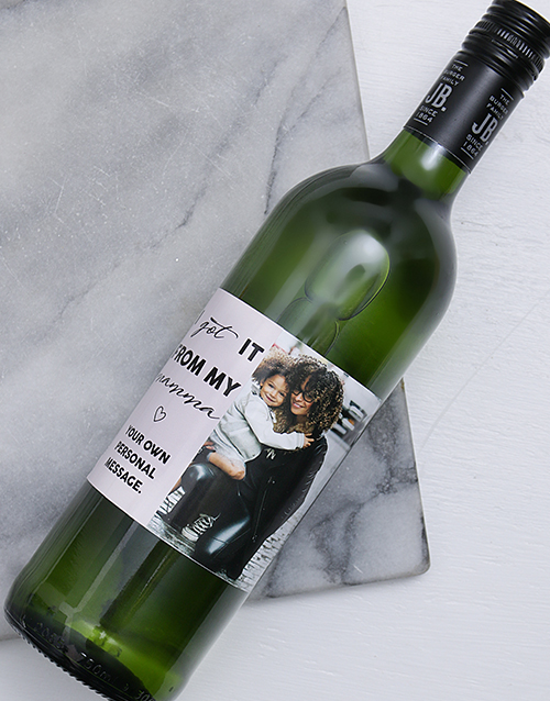 mothers-day: Personalised Photo Mamma Wine!