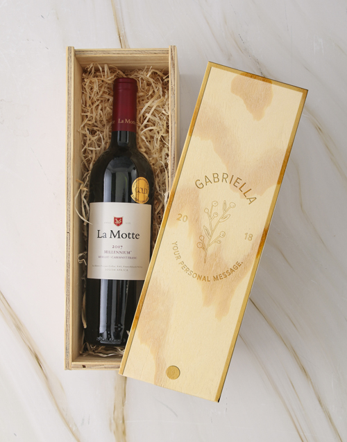 fine-alcohol: Personalised Regal Wine Crate!