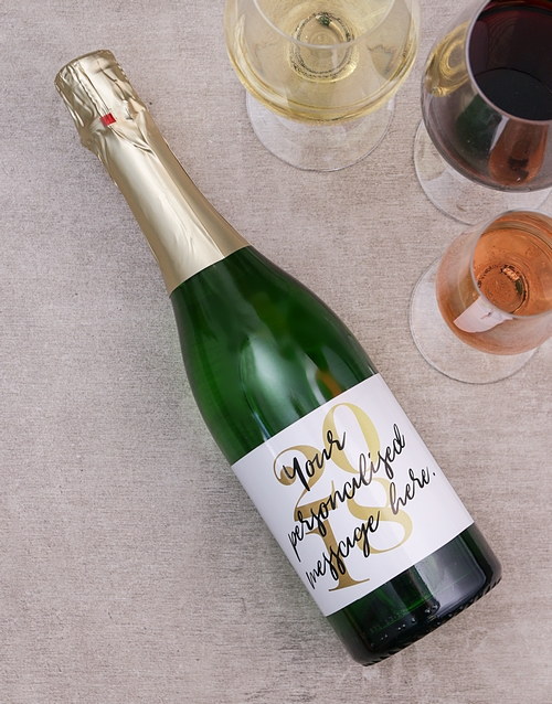 personalised: Personalised Year Of Wine!