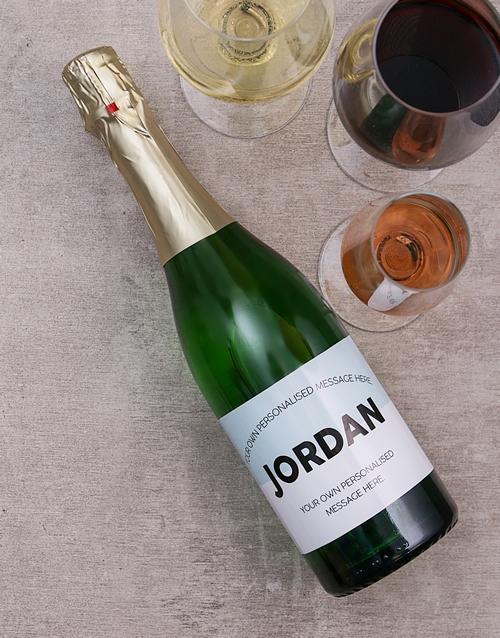 personalised: Personalised Pastel Wine!