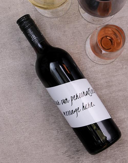personalised: Personalised Handwritten Wine!