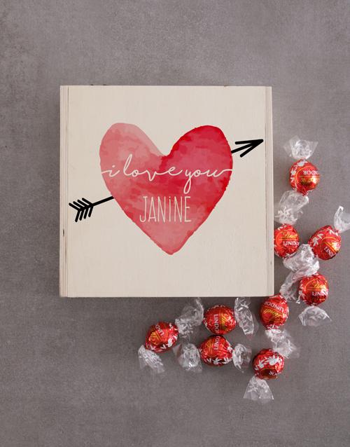 personalised: Personalised Love Heart Keepsake Box!