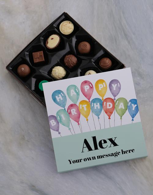 personalised: Personalised Photo Birthday Chocolate Tray!