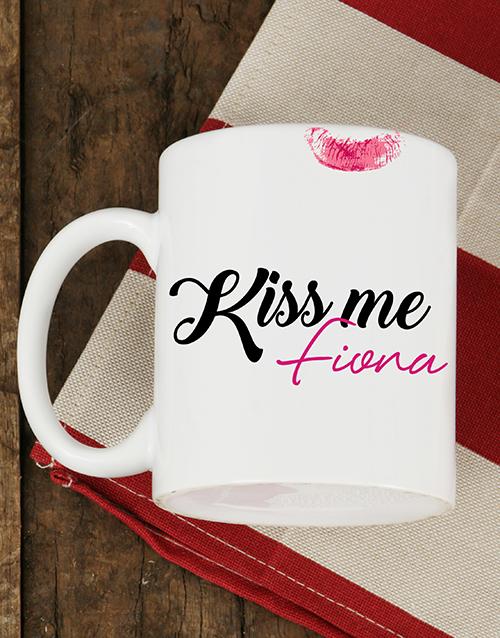 homeware: Personalised Kiss Me Mug!