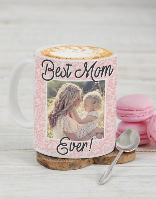 prices: Personalised Best Mom Ever Photo Mug!