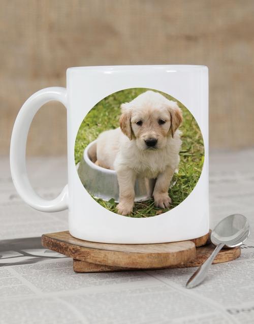 valentines-day: Personalised Puppy Photo Mug!
