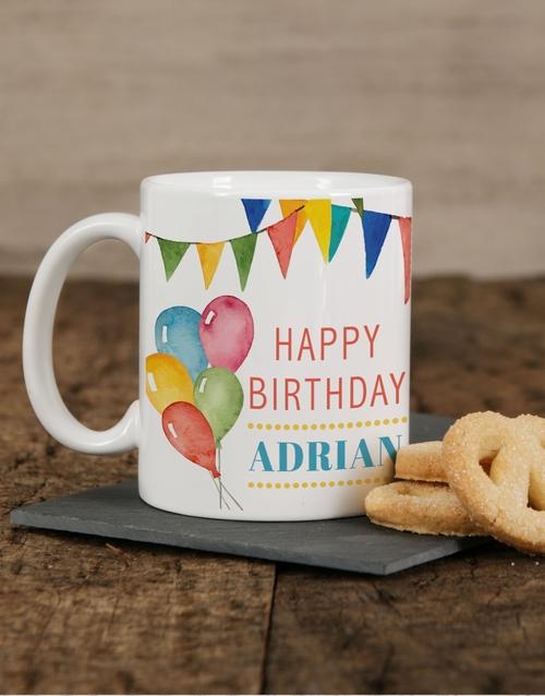 birthday: Personalised Birthday Mug Celebration!