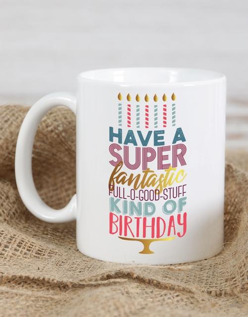 birthday: Personalised Fantastic Birthday Mug!