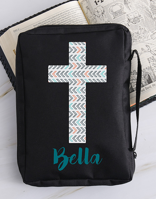 christmas: Personalised Blue Cross Bible Case!