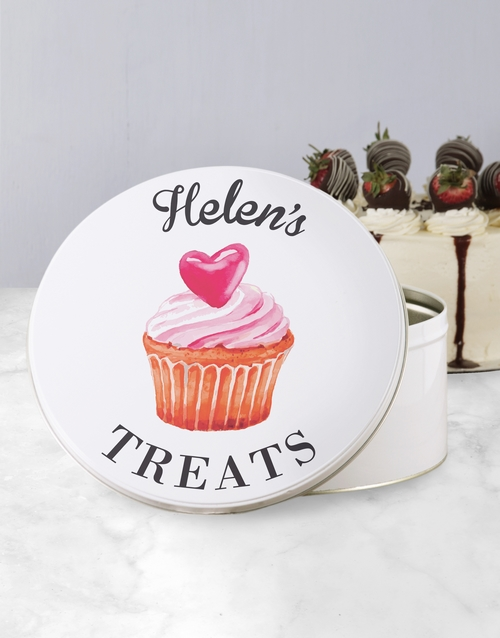homeware: Personalised Treats Cookie Tin!