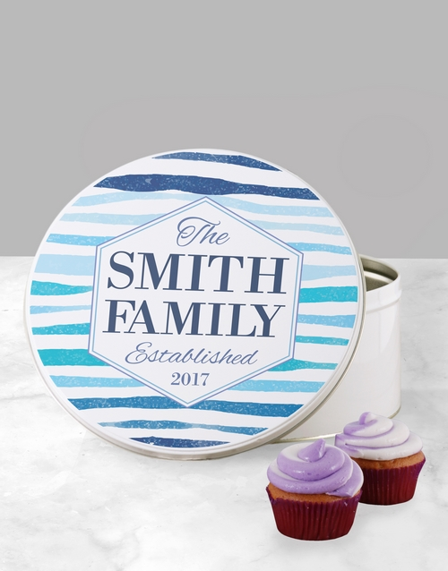 homeware: Personalised Family Cookie Tin!