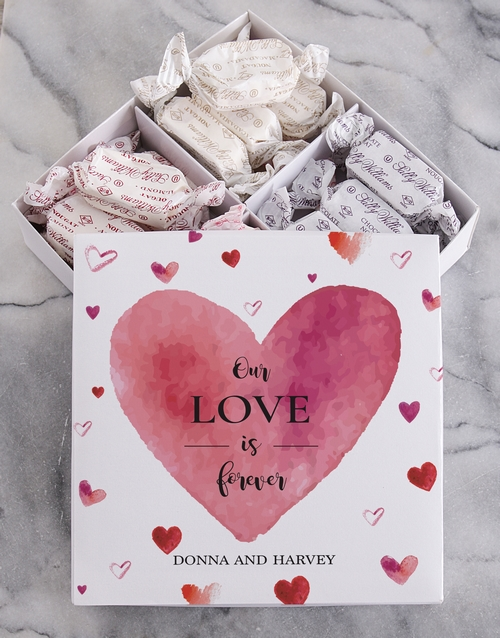 chocolate: Personalised Love Sally Williams Nougat Box!