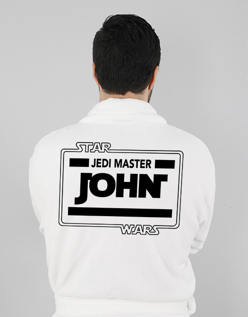 bath-and-body: Personalised Master Gown!