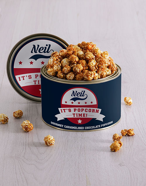 personalised: Personalised Popcorn Time Tin!