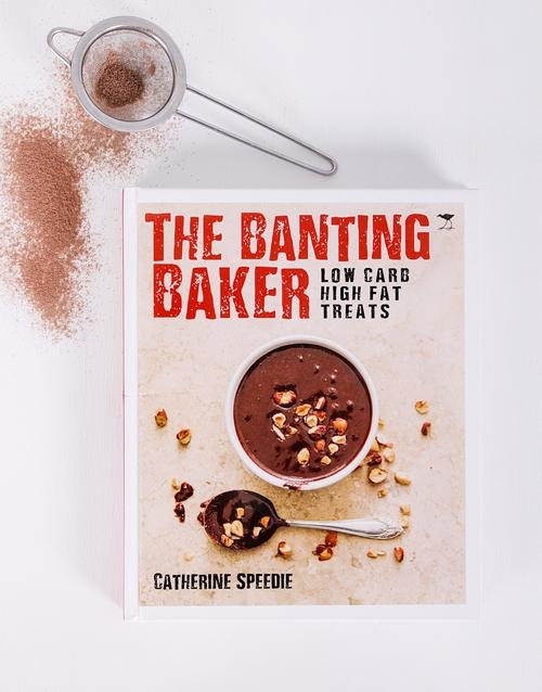 house-warming: Personalised Banting Baker Cookbook!
