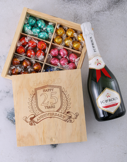 anniversary: Personalised Anniversary Year Choc Box!