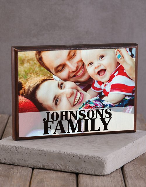 home-decor: Personalised Family Printed Photo Frame!