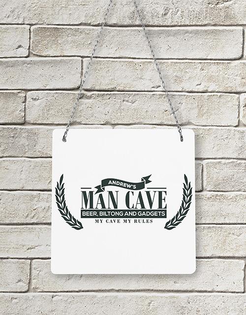 personalised: Personalised Man Cave Metal Sign!