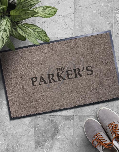 home-decor: Personalised Initial Doormat!