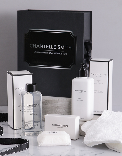 mothers-day: Personalised Charlotte Rhys Ultimate Gift Box!