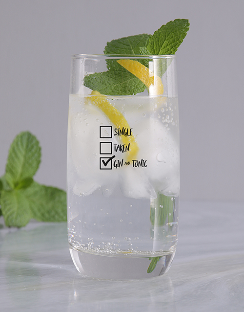 personalised: Personalised Gintastic Relationship Glass!
