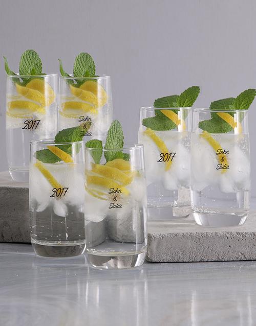 personalised: Personalised Birthday Celebration Glass Set!