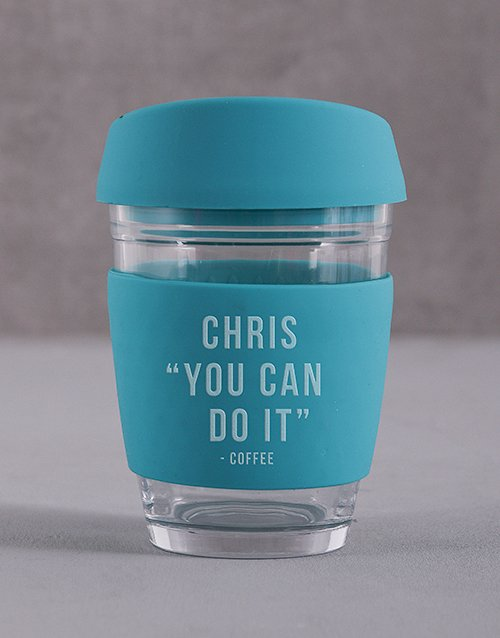 homeware: Personalised You Can Do It Travel Mug!