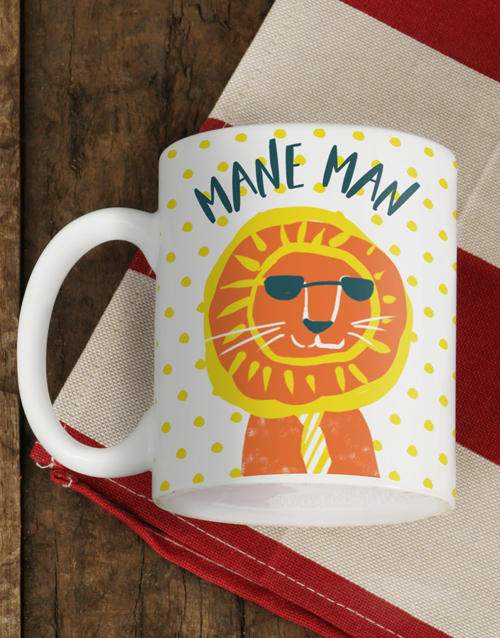 homeware: Personalised Mane Man Mug!