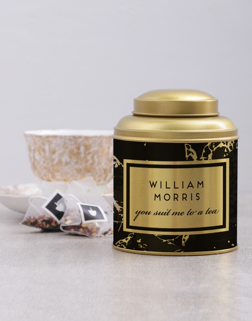 personalised: Personalised To a Tea Tin!