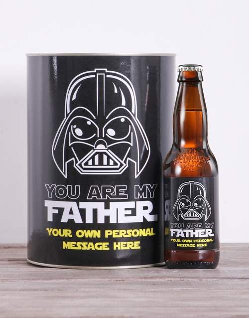 fathers-day: Personalised Vader Craft Beer!