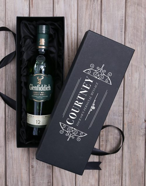 fathers-day: Personalised Glenfiddich Whisky Box!
