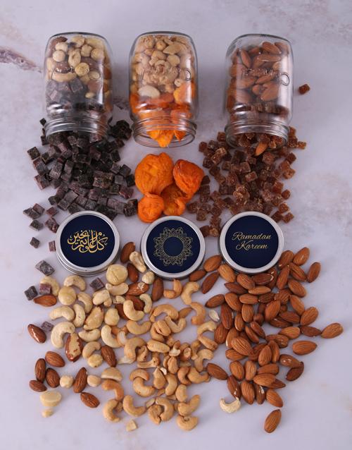 eid: Personalised Eid Snack Jar Trio!