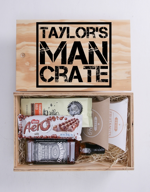 bosses-day: Personalised Man Crate!