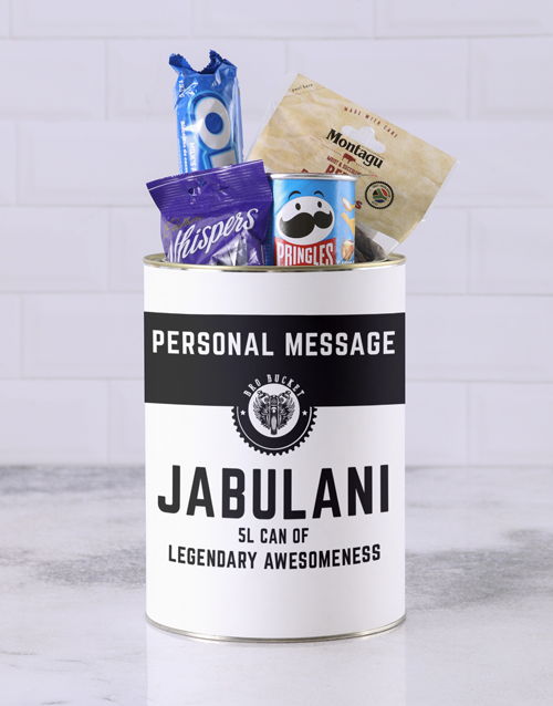 christmas: Personalised Legendary Bro Bucket!