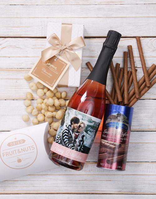 birthday: Personalised Birthday Photo Gourmet Giftbox!