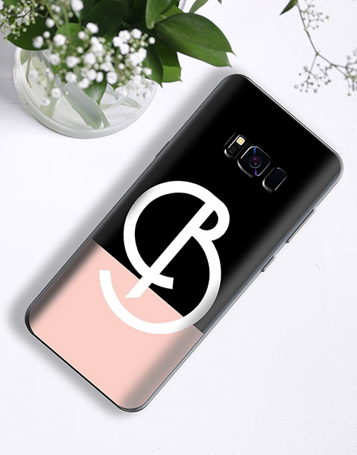 mothers-day: Personalised Deco Initial Samsung Cover!