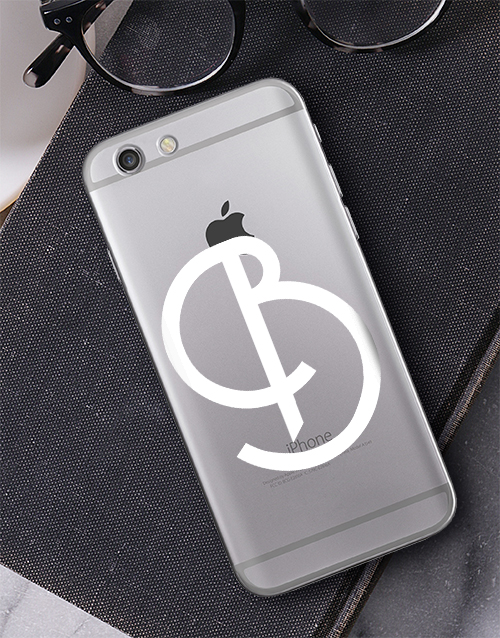 personalised: Personalised Deco Initial iPhone Cover!