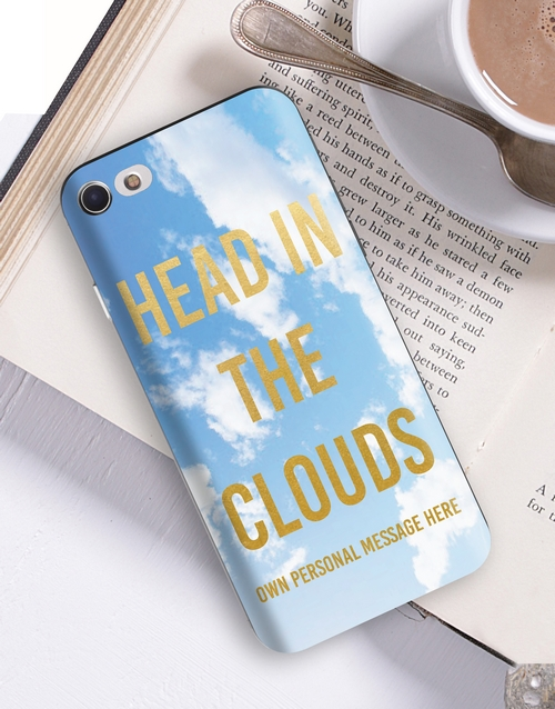 personalised: Personalised Clouds iPhone Cover!