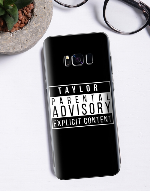 personalised: Personalised Explicit Content Samsung Cover!