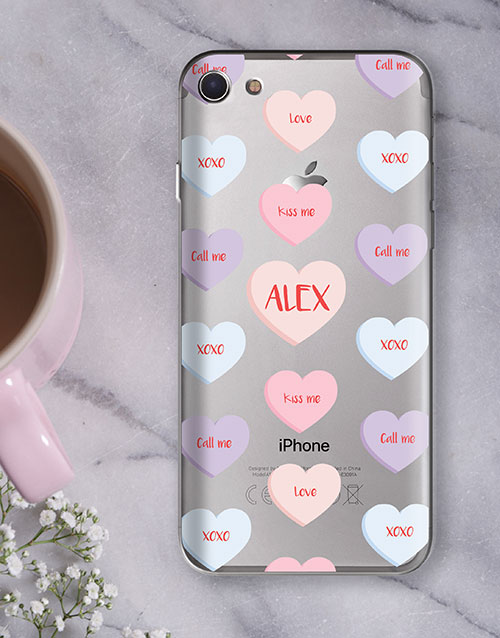 personalised: Personalised Sweetheart iPhone Cover!