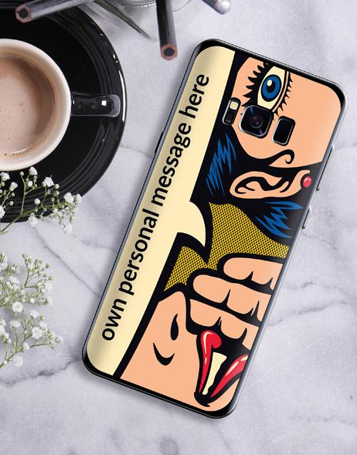 personalised: Personalised Pop Art Samsung Cover!