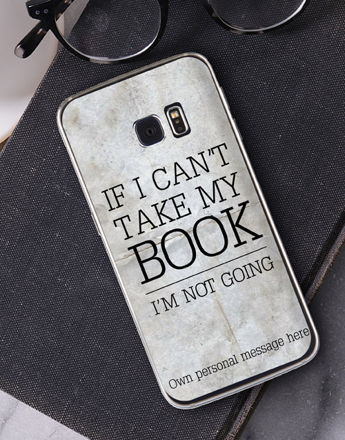 personalised: Personalised Bookish Samsung Cover!