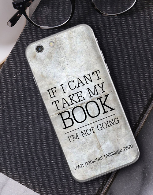 personalised: Personalised Bookish iPhone Cover!
