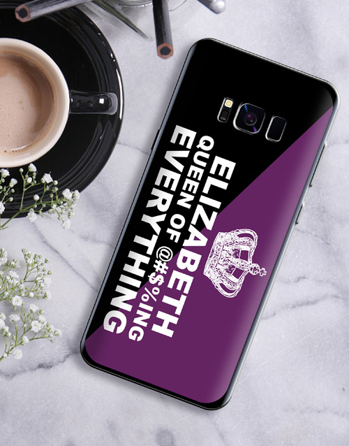 personalised: Personalised Queen Samsung Cover!