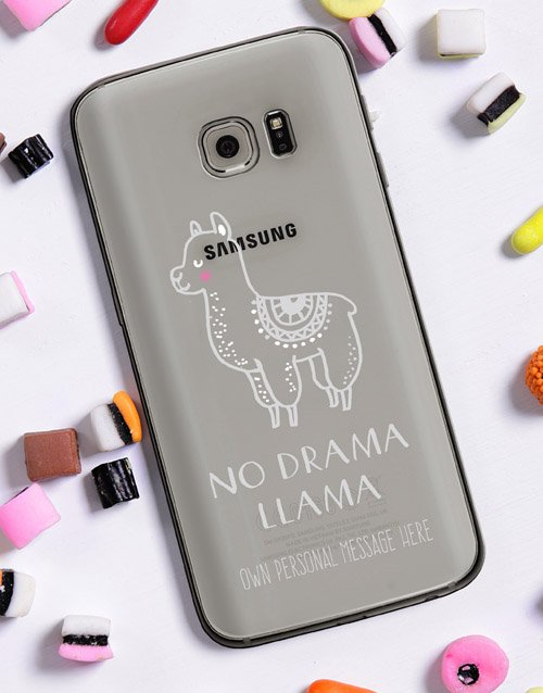 prices: Personalised Llama Samsung Cover!