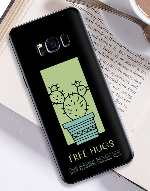 personalised: Personalised Cactus Samsung Cover!